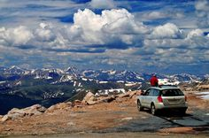 The Mount Evans Scenic Byway is the highest paved road in North America. Plan your Colorado day trip to drive up or hike the 14,264-foot summit.