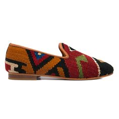 Men's Size 12/12.5 Turkish Kilim Rug Loafer