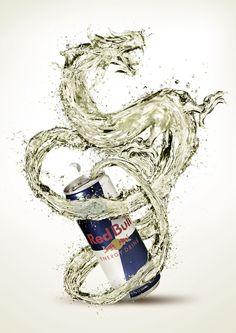 Red Bull - Dragon by pepey.deviantart.com