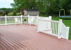 Light Weight Durable Plastic Wood Decking