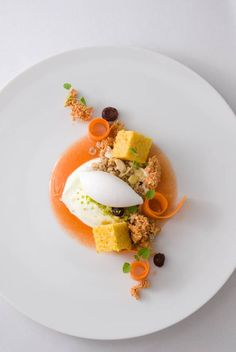 Looks like deconstructed Carrot Cake