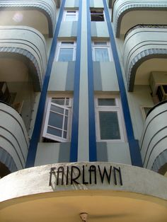 Mumbai has some of the finest examples of original Art Deco edifices anywhere in the world.