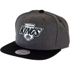 Mitchell & Ness Dark Heather 2 Tone Snapback Cap LA Kings ★★★★★