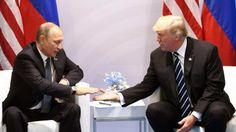 Donald Trump ja Vladimir Putin eivät olleet tavanneet ennen perjantaita.