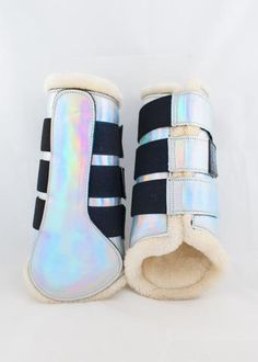 Holo/Glitter Open Front Boots - Set of four NEW Sizing – Punk Ponies Equestrian Gifts, Equestrian Outfits, Equestrian Fashion, Equestrian Style, Equestrian Problems, Horse Riding, Riding Boots, Riding Gear, Horse Shampoo