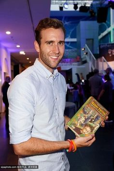 Matthew Lewis at Harry Potter The Exhibition in Cologne, Germany on 1st October 2014.