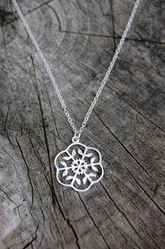 EARTH COLLECTION. Sterling silver mandala by VictoriaWaits on Etsy
