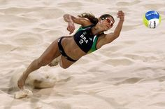 Great Moments in Beach Volleyball of Beijing Olympics  #UBFitnessApp  http://ub.fitness