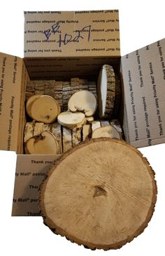 Not so perfect wood slices and products at a discount Log Slices, Wood For Sale, Weird Shapes, Birch Bark, Large Photos, Types Of Wood, Rustic Style, Rustic Wood, Boxes