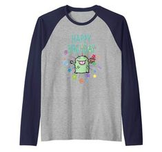 Toddler//Kids Raglan T-Shirt Just Like My Great-Grandpa Im Going to Love Birds When I Grow Up