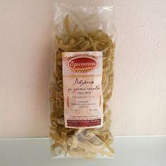 Παραδοσιακά Ζυμαρικά  -  'Εμνοστον: Λαζάνια με πολτό φρέσκιας τσουκνίδας