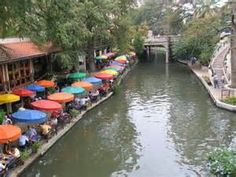 San Antonio River Walk Map Around San Antonio