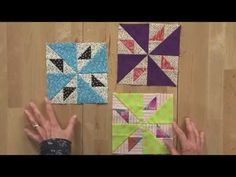 Addicted to Scraps with Bonnie Hunter for Quiltmaker Jan/Feb 2015 - YouTube