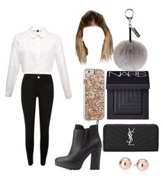 """""""Work wear"""" by denitsaa on Polyvore featuring Charlotte Russe, Helen Moore, Yves Saint Laurent, NARS Cosmetics, Case-Mate, women's clothing, women, female, woman and misses"""