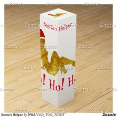 Santa's Helper Wine Box