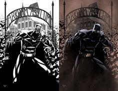 Batman Arkham Asylum by *ErikVonLehmann