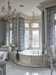 A luxury bathroom will get you halfway to a luxury home design. Today, we bring you our picks for the top bathroom decor ideas that merge exclusive bathroom Dream Bathrooms, Dream Rooms, Beautiful Bathrooms, Romantic Bathrooms, Master Bathrooms, Farmhouse Bathrooms, White Bathrooms, Fancy Bathrooms, Glamorous Bathroom