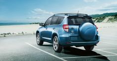 2012 Toyota Rav4 Pacific Blue metallic