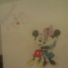 Minnie and mickey(: