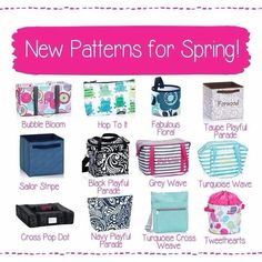 NEW 2015 Spring Patterns!!!