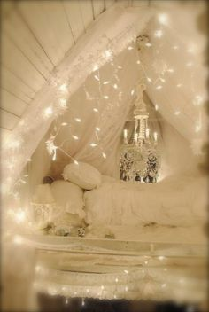 Is it weird to want Christmas lights indoors all year long? Thinking I must find a way to make this happen hmmm