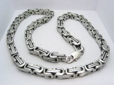 Hey, I found this really awesome Etsy listing at http://www.etsy.com/listing/120687604/stainless-steel-316l-byzantine-mens