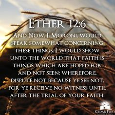 Scriptures Made Easier is reading the book of Ether on the way to finishing up the Book of Mormon as this year draws to a close!