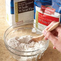 Mixing Different Types of Flours