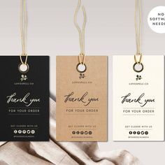 Diy Candle Labels, Candle Packaging, Clothing Tags, Diy Clothes Tags, Diy Clothing, Price Tags For Clothing, Price Tag Design, Small Business Cards, Thank You Card Design