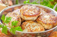 Receita de Bolinho de peixe - Comida e Receitas