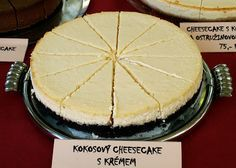 CHEZ LUCIE: Kokosový cheesecake s krémem Y Recipe, Cheesecakes, Food Dishes, Good Food, Food And Drink, Pie, Baking, Food Ideas, Therapy