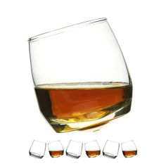 Rocking Whisky Glasses - Glasses that literally rock! Buy now at The Great Gift Company, the home of Unusual Gifts