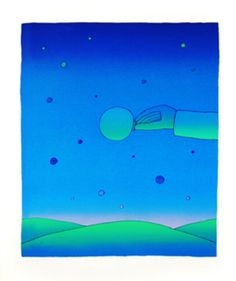 "Limited Edition Print ""La Nuit Du Temps"" by Jean Michel Folon Kamakura, Magritte, Illustrations, Illustration Art, Where Is My Mind, Magic Art, Gravure, Vincent Van Gogh, Paintings For Sale"