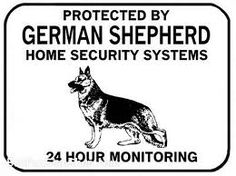 german shepherd signs - Google Search