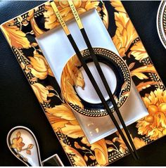 Versace Home : Asian Vanity Tableware Collection.