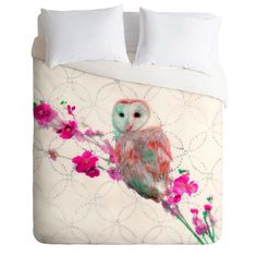 Hadley Hutton Quinceowl Duvet Cover | DENY Designs Home Accessories