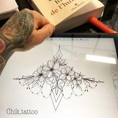 mandala tattoo arm lace delicat underboob flower