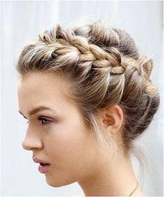 penteados presos para cabelo curto - Google Search