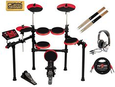 ddrum DD1 PLUS Electronic Drum Set Home Bundle *** Visit the image link more details. Note:It is affiliate link to Amazon.