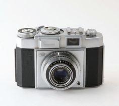 Zeiss Ikon Contina II 35mm Camera with Novicar Lens + Case