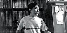 haruki murakami at his jazz bar 'peter cat' in tokyo 1978
