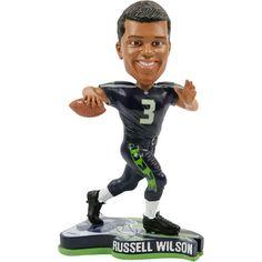 Russell Wilson Seattle Seahawks 2013 Pennant Base Bobblehead