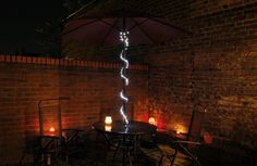 Jazz up the garden with these easy to use fairy lights.  Blingstring 50 LED Bulbs. £11.95. Blingstring 120 LED Bulbs. £17.94.