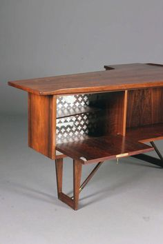 Desk by Peter Lovig Nielsen for Hedensted at 1stdibs