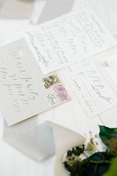 Classic Black and White Winter Wedding Ideas
