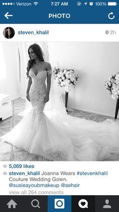 Gorgeous Stephen Khalil dress