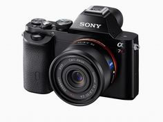 sony unveils the world's first full-frame mirrorless cameras