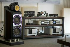 High end audio audiophile B&W Class Audio setup...