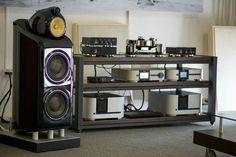 High end audio audiophile B&W Class Audio setup...