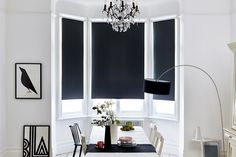 Manufactured in the UK, award winning Bloc Blinds have the ideal solution for dressing a bay window. Choose from a wide selection of stylish black out, dim out and translucent fabrics. Order free swatches today.